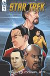 Star Trek Q Conflict #1 Cover B Variant David Messina Cover