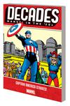 Decades Marvel In The 50s Captain America Strikes TP