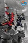 Black Panther vs Deadpool #1 Cover D NYCC 2018 Exclusive Ryan Benjamin Variant Cover