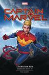 Captain Marvel Liberation Run Novel HC