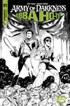 Army Of Darkness Bubba Ho-Tep #1 Cover H Incentive Emma Kubert Black & White Cover