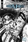 Army Of Darkness Bubba Ho-Tep #1 Cover J Incentive Tom Mandrake Black & White Cover