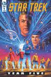 Star Trek Year Five #1 Cover A Regular Greg Hildebrandt Cover
