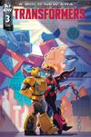 Transformers Vol 4 #3 Cover B Variant Anna Malkova Cover