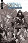 Xena Warrior Princess Vol 4 #1 Cover H Incentive Emanuela Lupacchino Black & White Cover