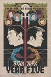 Star Trek Year Five #1 Cover B Incentive JJ Lendl Variant Cover