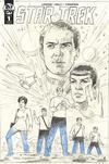 Star Trek Year Five #1 Cover C Incentive Greg Hildebrandt Sketch Cover