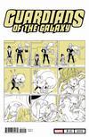 Guardians Of The Galaxy Vol 5 #3 Cover B Variant Nao Fuji Cat Cover
