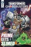 Transformers Ghostbusters #1 Cover B Variant Nick Roche Cover