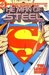 Man Of Steel #1 Silver Logo