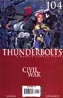 Thunderbolts #104 1st Ptg (Civil War Tie-In)