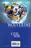 Wolverine Vol 3 #45 (Civil War Tie-In)