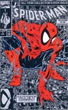 Spider-Man #1 Silver Edition Direct Sales Version