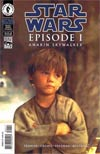 Star Wars Episode 1 The Phantom Menace Anakin Skywalker Photo Cvr