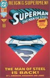 Superman The Man Of Steel #22 Collectors Edition