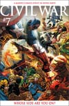 Civil War #7 Incentive Michael Turner Variant Cover