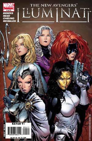 New Avengers Illuminati #4