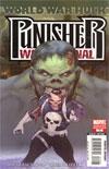 Punisher War Journal Vol 2 #12 Zombie Variant Cover (World War Hulk Tie-In)