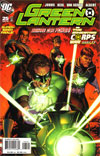 Green Lantern Vol 4 #25 Incentive Gary Frank Variant Cover (Sinestro Corps War Part 11)