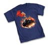 Supergirl Meteor by Adam Hughes T-Shirt Small