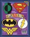 DC Superheroes Symbols 5-Piece Magnet Set (08208FP)