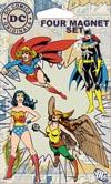 DC Comics Originals Superheroines 4-Piece Magnet Set (35030P4)