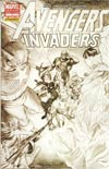 Avengers Invaders #1 Incentive Alex Ross Sketch Cover