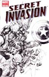 Secret Invasion #1 3rd Ptg Leinil Francis Yu Variant Cover