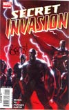 Secret Invasion #1 DF Signed By Brian Michael Bendis