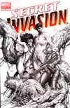 Secret Invasion #4 Cover D Incentive Steve McNiven Sketch Variant Cover