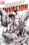 Secret Invasion #4 Cover D Incentive Steve McNiven Sketch Variant Cover