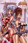 Avengelyne Glory #1 Variant Rob Liefeld Cover