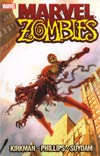 Marvel Zombies TP Book Market Spider-Man Cover