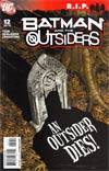 Batman And The Outsiders Vol 2 #12 (Batman R.I.P. Tie-In)