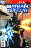 Batman And The Outsiders Vol 2 #13 (Batman R.I.P. Tie-In)