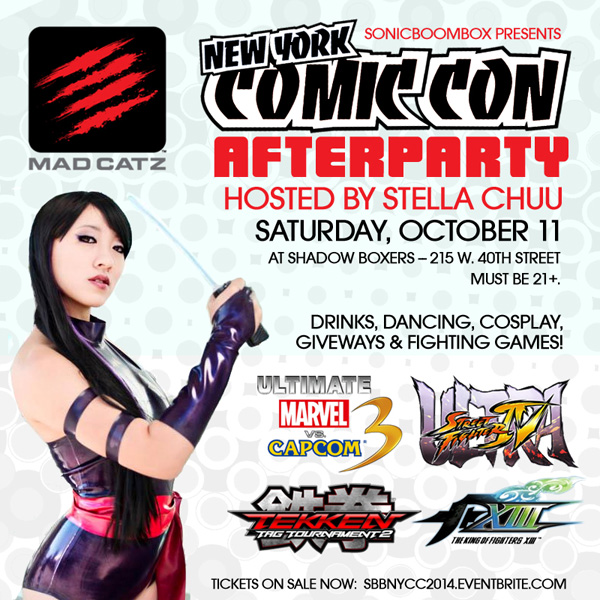 NYCC Afterparty