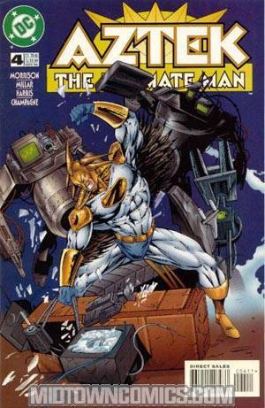 Aztek The Ultimate Man #4
