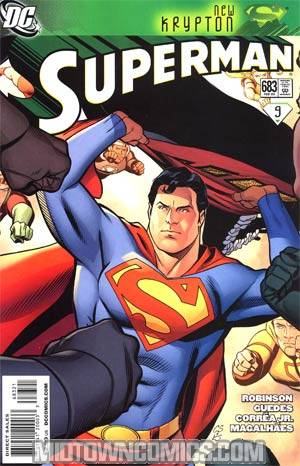 Superman Vol 3 #683 Incentive Chris Sprouse Variant Cover (New Krypton Part 9)