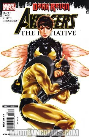 Avengers The Initiative #20 (Dark Reign Tie-In)