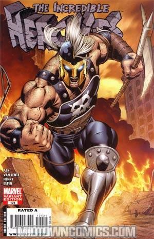 Incredible Hercules #124 Cover B Incentive Villain Variant Cover