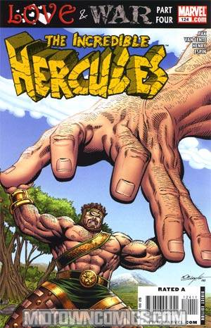 Incredible Hercules #124 Regular Bob Layton Cover