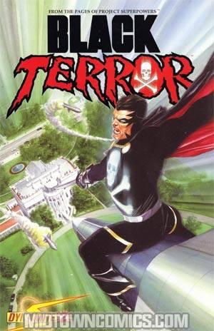 Black Terror Vol 3 #2 Foil Cover