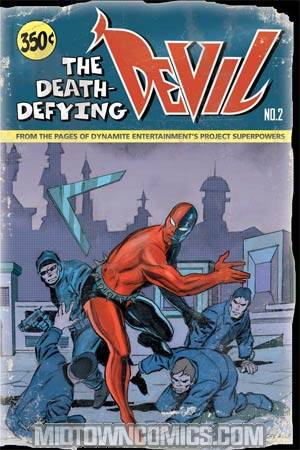 Death-Defying Devil #2 Cover C Regular George Tuska Cover