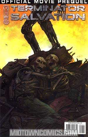 Terminator Salvation Movie Prequel #1 Cover B Incentive Klaus Scherwinski Variant Cover