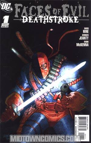 Faces Of Evil Deathstroke #1