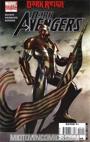 Dark Avengers #1 Cover C Incentive Adi Granov Variant Cover (Dark Reign Tie-In)