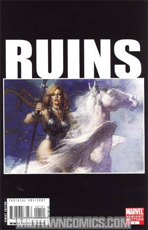 Ruins Reprint Cover B Logo Variant Cover