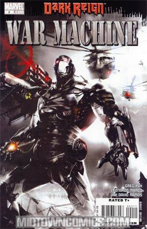 War Machine Vol 2 #2 Cover A 1st Ptg (Dark Reign Tie-In)