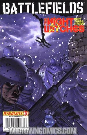 Garth Ennis Battlefields The Night Witches #3 Cover A Regular Cover