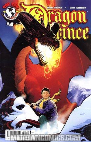 Dragon Prince #4 Cover A Jeff Johnson
